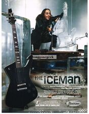 2004 IBANEZ Iceman Electric Guitar DARON MALAKIAN System Of A Down Vtg Print Ad