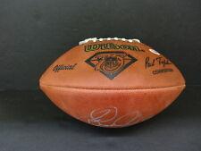 Rod Woodson Signed Wilson NFL Official Football Autograph Auto PSA/DNA X84110