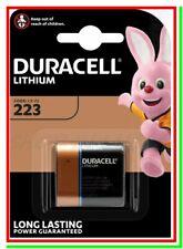 DURACELL 223 Batteria Pila CR-P2 EL223 CRP2P CRP2 223 VL223 K223LA Foto Flash