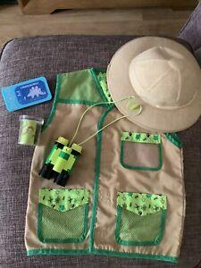 Andy Dinosaur Safari Explorer Adventure Outfit Age 3-6 Years