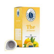 18 Cialde Miscela The Limone - Filtro in Carta da 44mm - Caffè Borbone