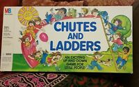Vintage 1978 Chutes And Ladders Board Game Milton Bradley New Old Stock Open Box