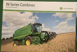 John Deere W Series Combine Brochure