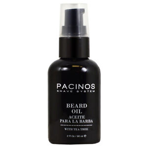 Pacinos Shave System Beard Oil 2oz w/Free Nail File