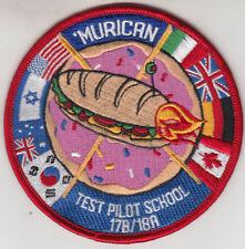 MURICAN TEST PILOT SCHOOL 17B/18A PATCH