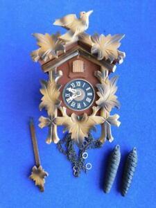 Classic original Black Forest Cuckoo Clock REGULA Movement complete