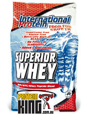 INTERNATIONAL PROTEIN 4.5KG SUPERIOR WHEY VANILLA vital musashi strength bsc wpi