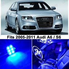 16 x Premium Blue LED Lights Interior Package Upgrade for Audi A6