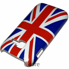 Cover Per Samsung S5380 Wave Y 538 Bandiera Inglese UK + Pellicola Salva Dispay