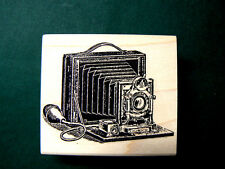 P18 Vintage Photo Camera-WM rubber stamp 2.5x2""
