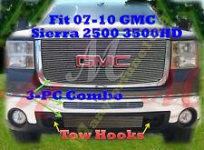 07-10 08 09 2008 2010 2009 GMC Sierra2500  2500HD 3500 3500HD 3PC Combo Logoshow