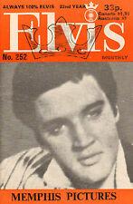 ELVIS MONTHLY No. 252 - 1981 (UK FANCLUB MAGAZINE ELVIS PRESLEY)