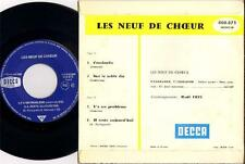 """LES NEUF DE COEUR """"COCCINELLE"""" 60'S EP"""