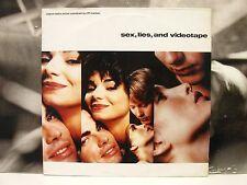 CLIFF MARTINEZ - SEX LIES & VIDEOTAPE  ORIGINAL SOUNDTRACK LP 1ST UK PRESS 1989