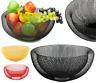 24/30cm Mesh Fruit Bowl Dinning Table Vegetables Fruit Basket Storage Rack Bowl