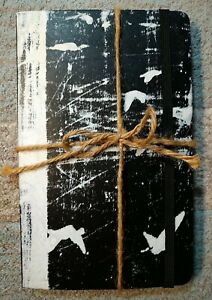Hand Signed Sigur Ros Moleskine Book Takk North American Tour Collectible Jonsi