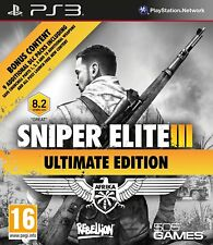 Sniper Elite III: Ultimate Edition (PS3 Game) *VERY GOOD CONDITION*