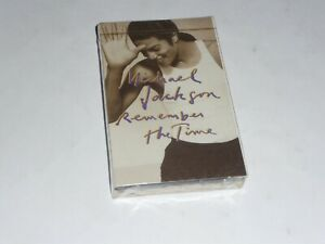 Michael Jackson-Remember the time (CANADIAN Cassingle or Cassette Single) SEALED