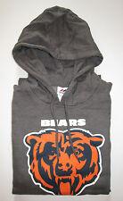 Men's Chicago Bears Large Hoodie Sweatshirt Majestic New NWT