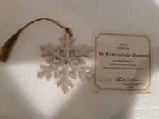 Lenox Winter Splendor Ornament