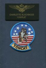 CHARLOTTE CHARLIE BLACKWOOD TOP GUN MOVIE SQUADRON Halloween Costume Patch Set 6