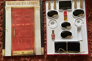 """Elizabeth Arden Rare Vtg Set In Red Door Box With 12 Full Size Products 19"""" High"""