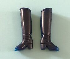 Vintage Hasbro Doll Clothes: Charlie's Angel Doll Shoes Boots Action Figure
