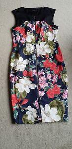 Portmans Floral Dress. 14. New.