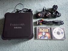 PANASONIC 3DO CONSOLE FZ-1 REAL & 1 CONTROL PAD & LEAD & 2 GAMES R.E.A.L