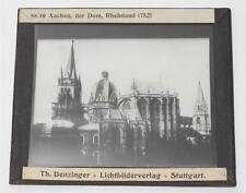 Aachen Dom, antikes Lichtbild Glasplatte ca. 1920 #E878