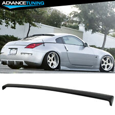 For 03-08 Nissan 350Z RS Style Unpainted Rear Roof Spoiler Wing - ABS