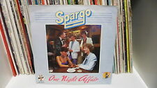 "SPARGO "" One night affair / Running from your lovin' "" 7"" BABY RECORDS"
