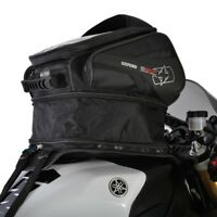 Oxford S30R Black Motorcycle Motorbike Strap On Tank Bag 30L Sat Nav Map Holder