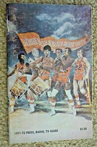 1971-72  BALTIMORE BULLETS  - YEARBOOOK Media Press Guide - NBA