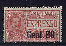 FRANCOBOLLI 1922 REGNO ESPRESSO 60 CENTESIMI SU 50 INTEGRO MNH Z/678