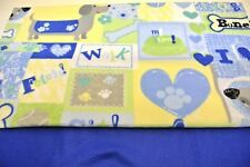 New listing Dachshund Doxie Dog Pet Blanket Blue Pw Double Sided Can Personalize 28x22