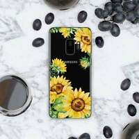 Sunflower Art Case For New Samsung S10e S8 S9 S10 Plus Silicone Note 7 8 9 Cover