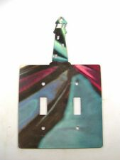 LightHouse Double Light Switch Cover Plate by Steel Images 42415