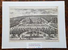 XVII ème Dépt 92 Belle Gravure Le Trianon ou Pavillon de St Cloud  PL 73 - 1681