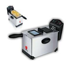 Friggitrice Elettrica Professionale Jordan 2000W 3 Litri Cestello Estraibile