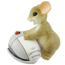 I Really Click With You Charming Tails Mouse Figurine #4033014