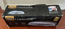 New Fellowes 5727001 Thermal Cold Laminator 9 12w 2 Temps Silver