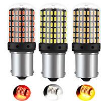 2/4Stk BA15S 1156 3014 144SMD Fehlerfrei LED Auto Blinker Lampe Rücklicht Birne