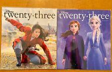 Disney twenty-three Fan Club D23 Winter 2019 Frozen Spring 2020 Mulan Magazine