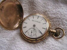 Antique Elgin G.M. Wheeler Pocket Watch Beautiful Case