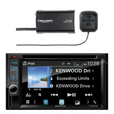 Kenwood DDX575BH receiver and Sirius SXV300v1 Vehicle Satellite Radio Tuner