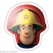 """23 """"ROSSO Pompiere Sam Bambini Festa di Compleanno HEAD SUPERSHAPE Foil Balloon"""