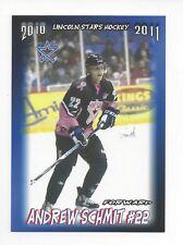 2010-11 Lincoln Stars (USHL) Andrew Schmit (Pensacola Ice Flyers)