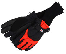 Tundra BOOTS Kids 168206 SnowStoppers Winter Gloves Black/Red X-Small