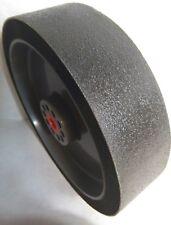 "280G - 8"" x 2"" Diamond ""XTRA"" Wide Soft Wheel Polishing Lapidary Glass Grinding"